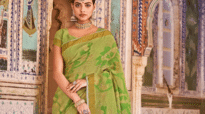 Priyadarshini Chatterjee sizzles in the traditional photoshoot