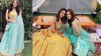 Alia Bhatt sizzles as bridesmaid in blue lehenga at best friend's wedding