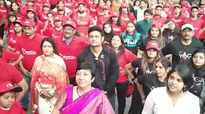 TV actor Manav Gohil flags off run to create awareness on menstrual hygiene