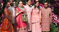 Global personalities attend Akash Ambani-Shloka Mehta's wedding ceremony