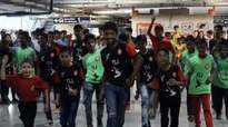 Around 100 Mumbai kids participate in flash mob supporting gender equality and women's safety