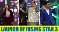 Shankar Mahadevan, Neeti Mohan, and others at the launch of Rising Star 3