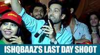 Nakuul Mehta, Niti Taylor and other Ishqbaaz actors party hard on the last day of the shoot