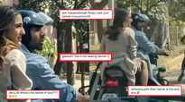 Sara Ali Khan gets trolled for not wearing helmet on a bike ride with Kartik Aaryan