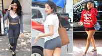 Janhvi Kapoor's casual gym look is a trendsetter