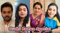 Marathi TV actors' special message to fans on Gudi Padwa