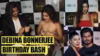 Debina Bonnerjee rings in her birthday in style