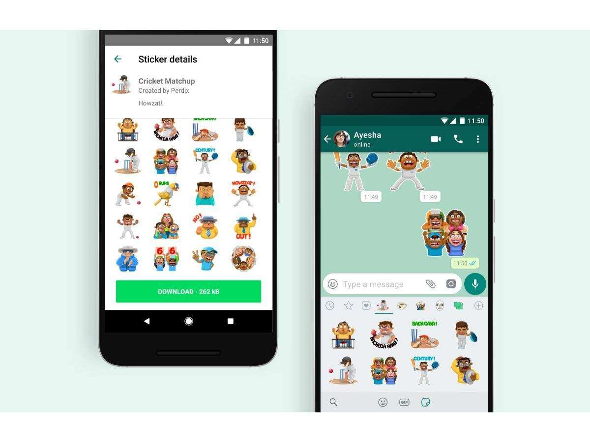 IPL fans, WhatsApp has these cricket stickers for you