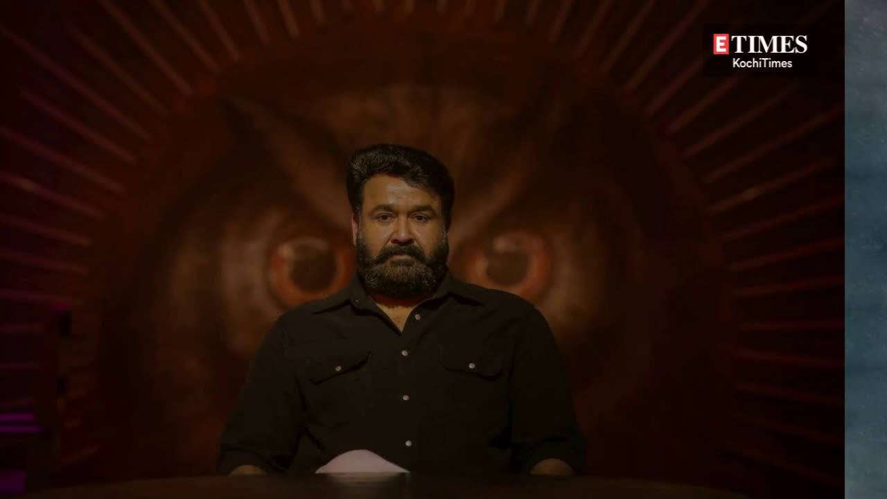 Watch Mohanlal help Prithviraj during the shoot of Lucifer