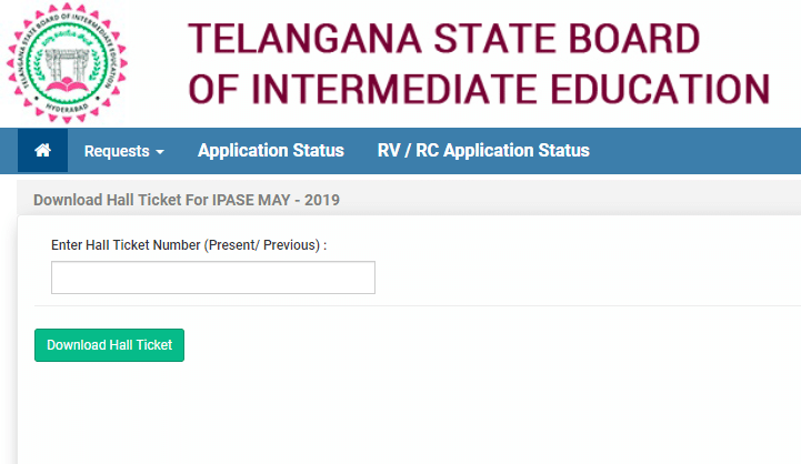 TSBIE Inter Supply Hall tickets: Telangana Inter