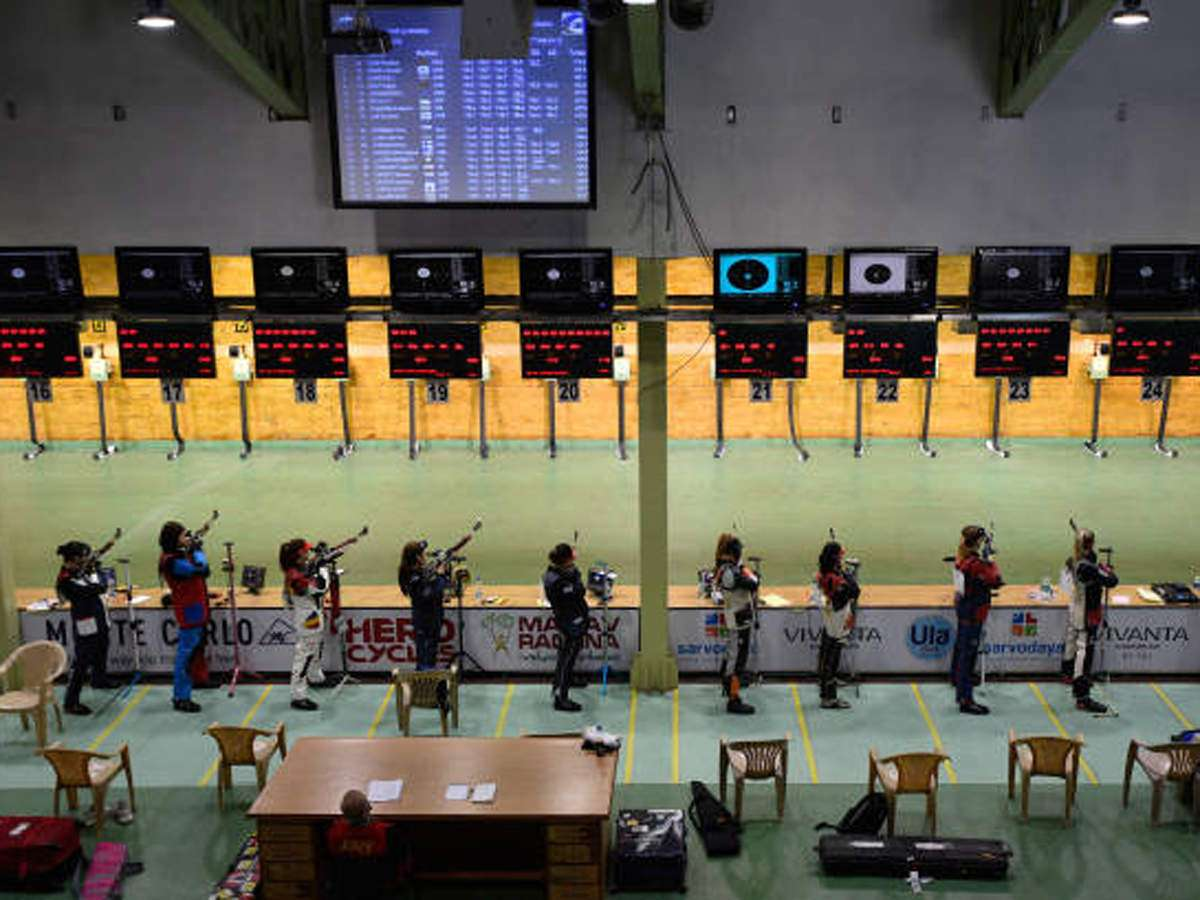 National Level Shooter Claims She Was Forced To Leave Karni Singh Range By Officials More Sports News Times Of India
