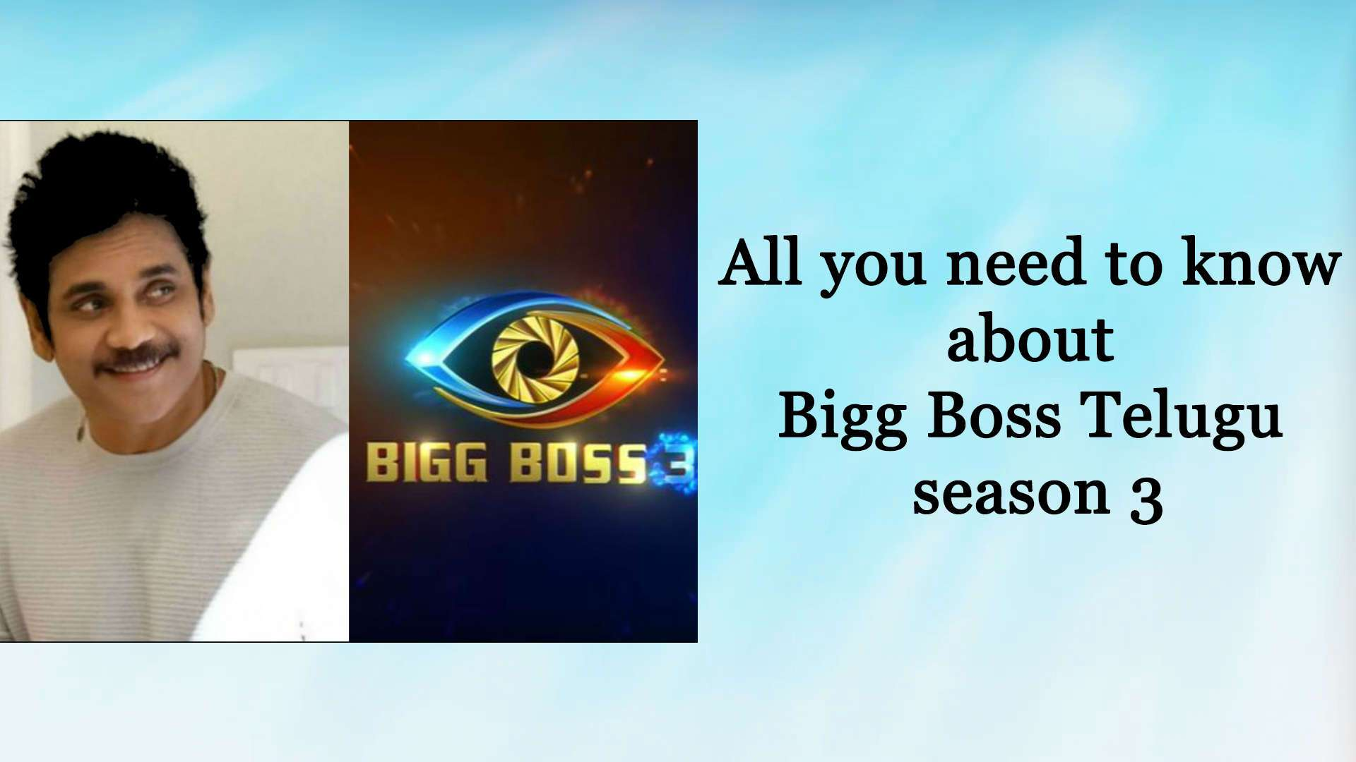 Bigg Boss Telugu Season 3: Latest News, Videos and Photos of Bigg