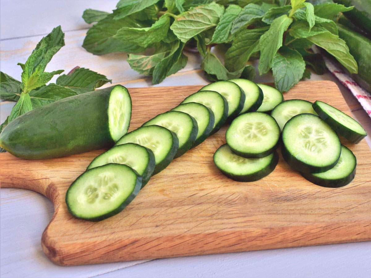 Why You Must Eat A Cucumber Daily The Times Of India