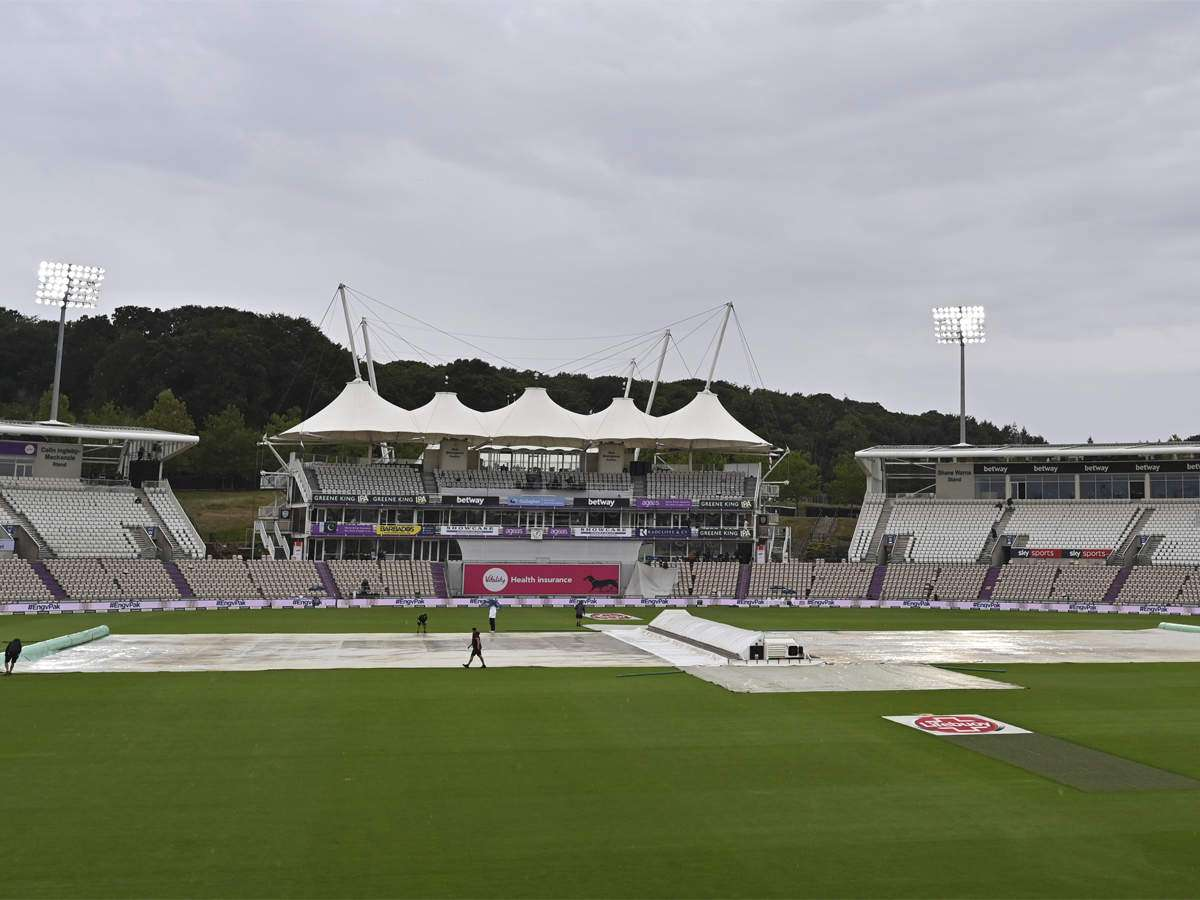 2nd Test Rain Washes Out Most Of Fourth Day In Southampton Cricket News Times Of India